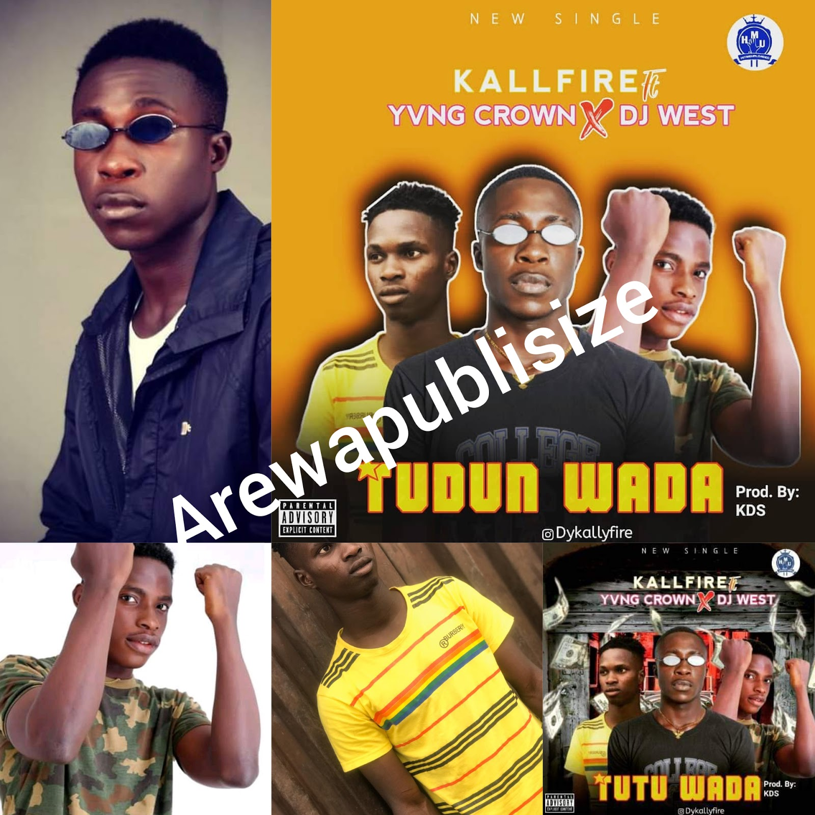 """[Song review] Between Kallyfire, Dj west and Yvng crown, who murdered """"Tudun wada"""" #Arewapublisize"""