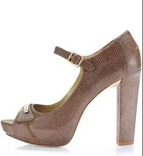 zapatos tacon cuadrado