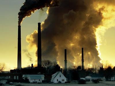مصادر تلوث الهواء