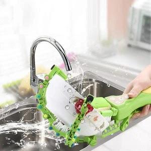 Handheld Automatic Dish Scrubber Brush Buy On Amazon