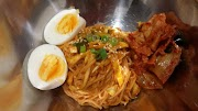 Resep dan Cara Membuat Masakan Korea Bibim Guksu alias  Mie Campur Ala Korea