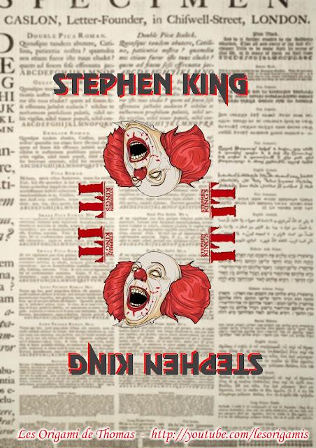 Texture bateau en papier - ÇA Stephen King