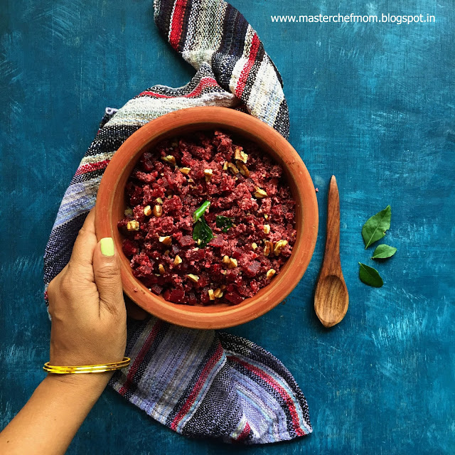 Indian Style Beetroot Salad
