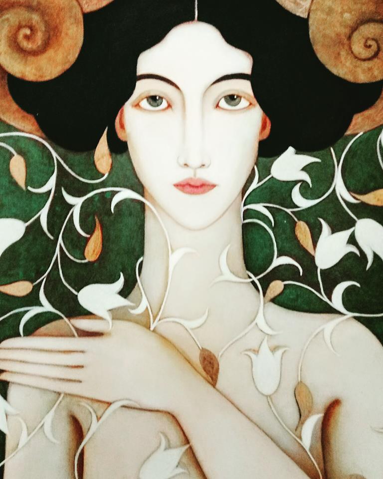 Faiza Maghni, 1964 | Abstract painter | Tutt'Art@ | Pittura ...