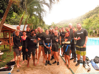 PADI IDC for October-November 2016 on Phuket has been completed