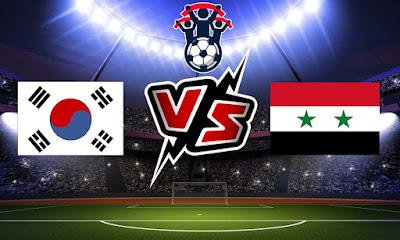 كوريا الجنوبية و سوريا بث مباشر
