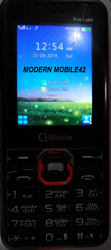 Qmobile Fire Light Flash File