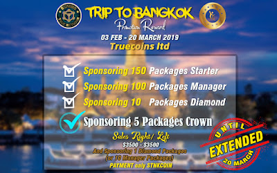 HOT NEWS.....!!! PROGRAM LIBURAN KE BANGKOK DI PERPANJANG