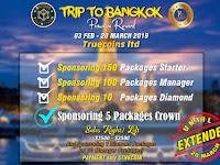 Hot News..!!! Program Liburan Ke Bangkok Di Perpanjang