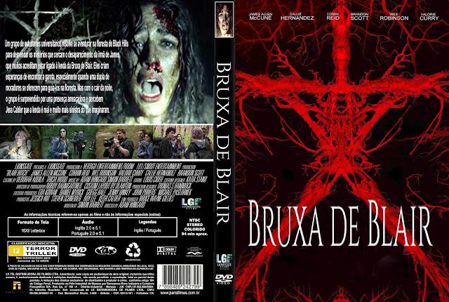 Capa DVD Bruxa De Blair 2016