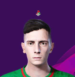 PES 2020 Faces Luka Đorđević by Korneev