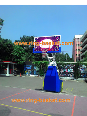 harga ring basket portable murah