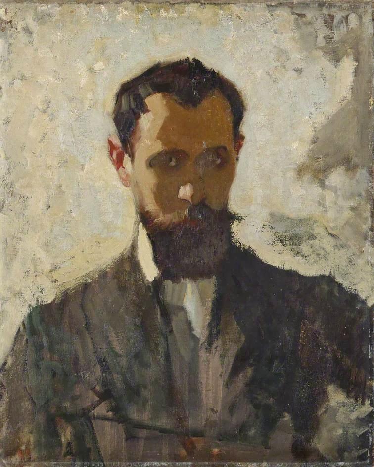 Adolphe  Valette  c  Self  Portrait  Study