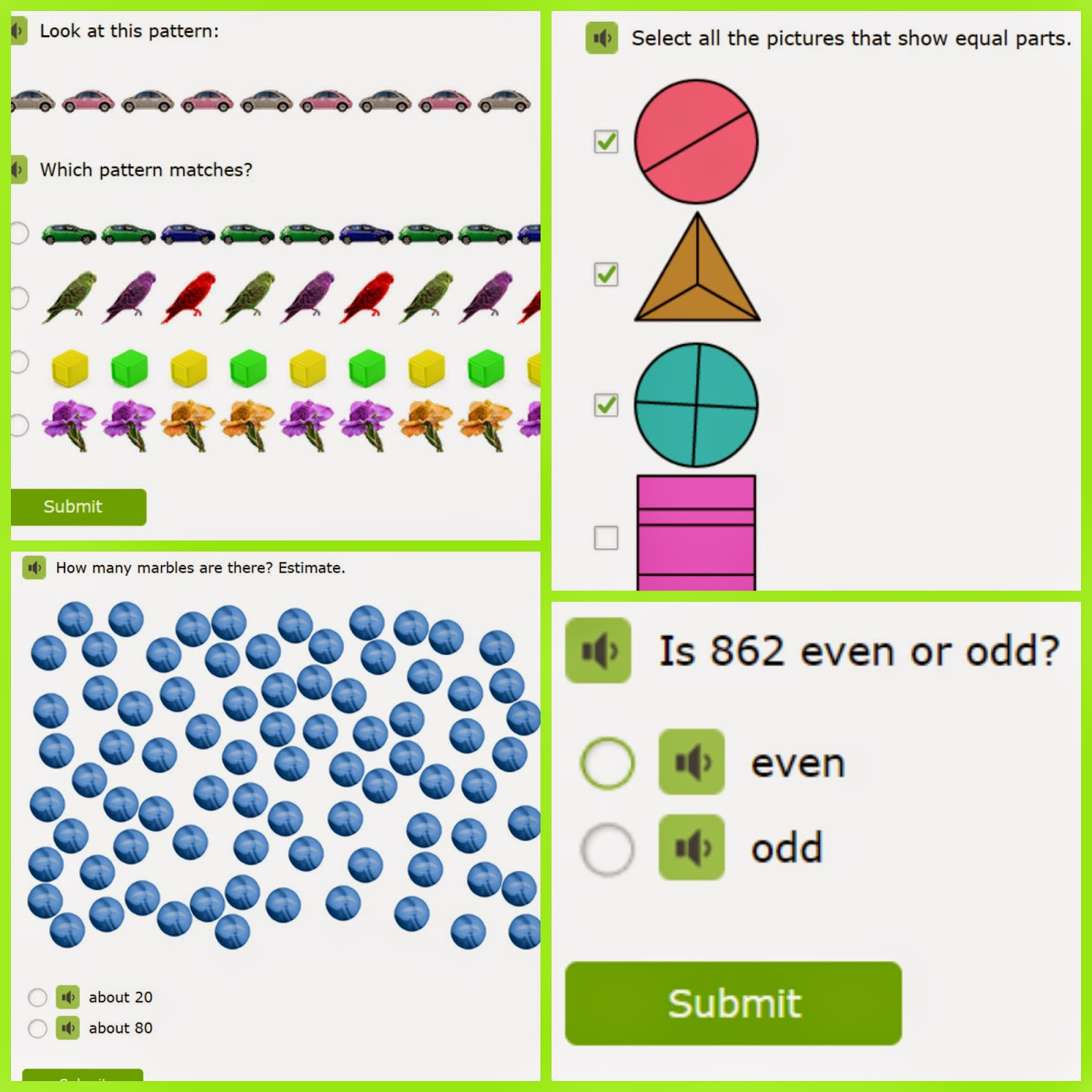Ixl Math Practice Second Grade