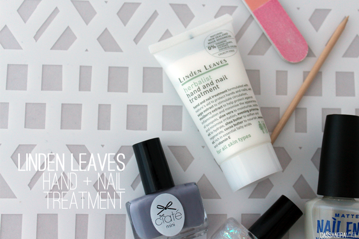 LINDEN LEAVES // Herbalist Hand + Nail Treatment - cassandramyee