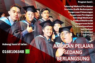 Kursus yang ditawarkan di Cosmopoint Sabah