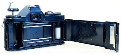 Pentax MV1 35mm SLR (Black) Body #866