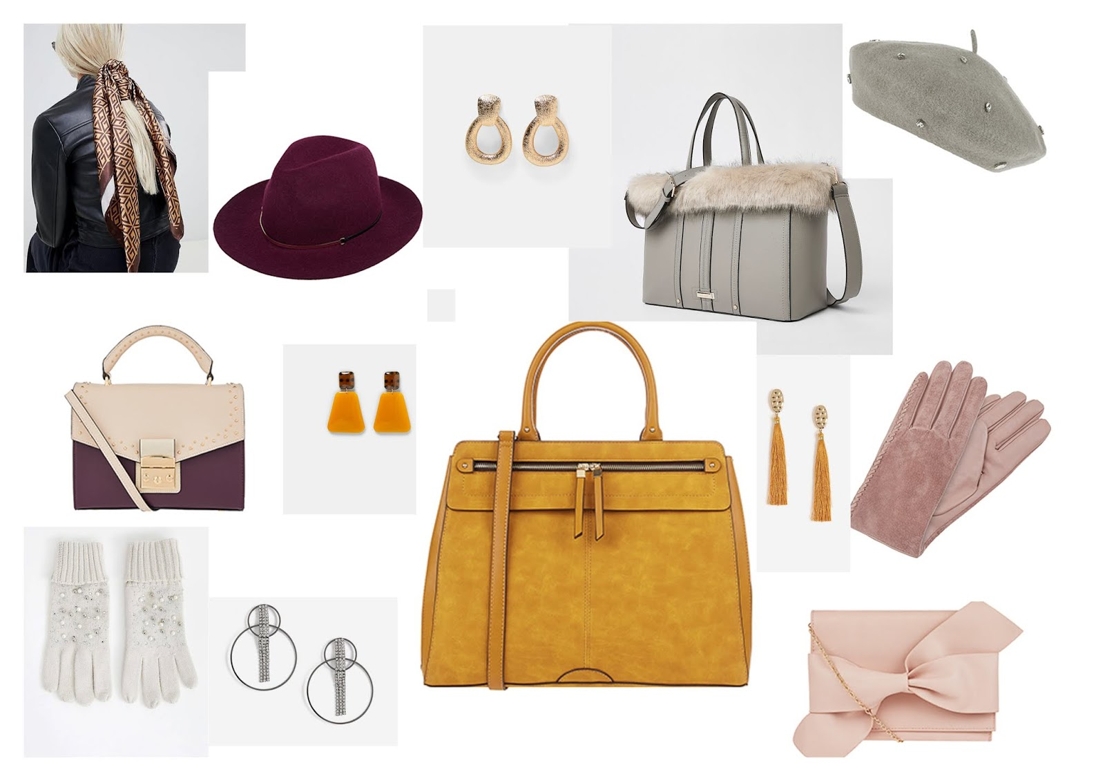 Christmas Gift Guide: Accessories, Hats, Gloves, Scarves, Jewellery, Handbags