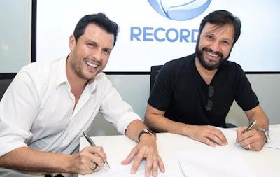 Humorista Ceara na TV Record