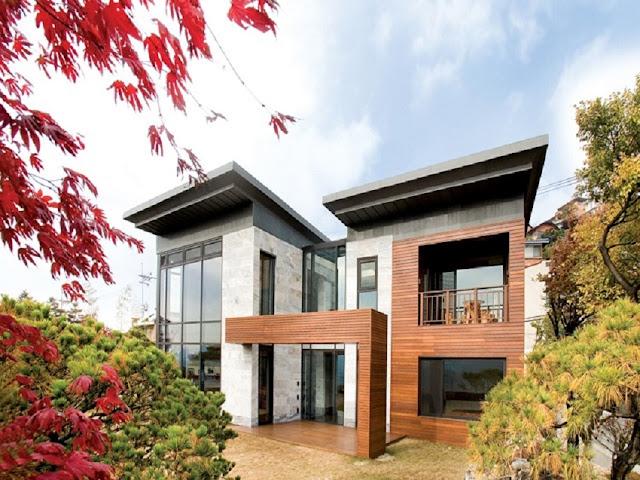 Desain Rumah Minimalis Modern Ala Korea via Interiordesign.id