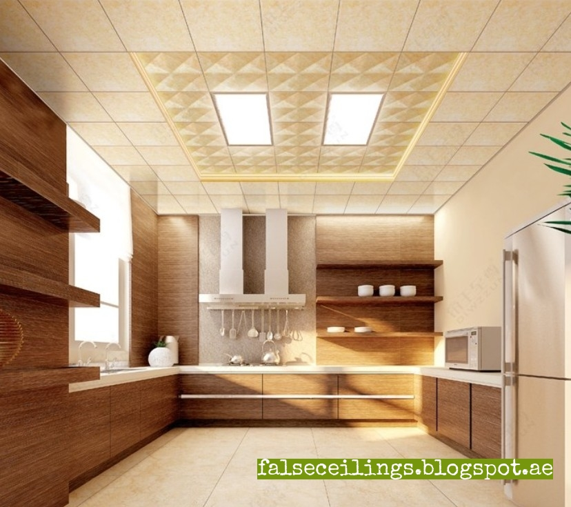 All about false ceiling - Wondrous kitchen ceiling designs ...