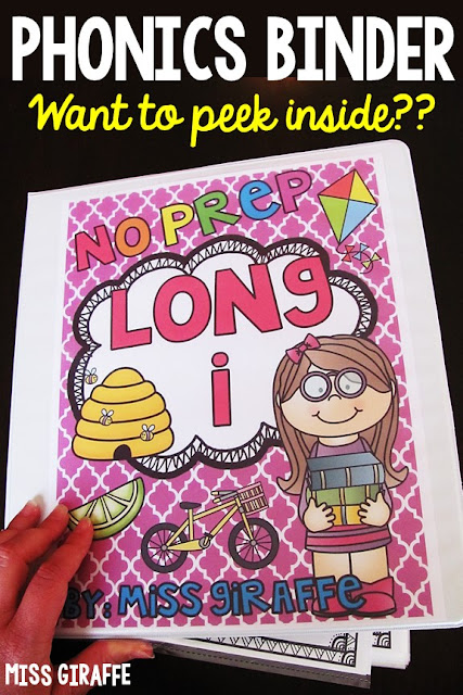 Phonics sounds binders - peek inside mine!