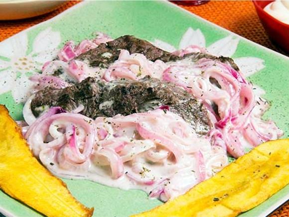 Receta de Bistec De Lomo Con Mayonesa