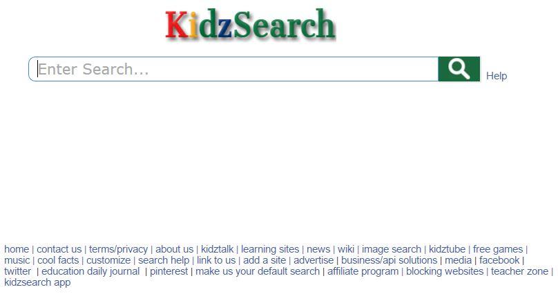 Kidz Search Mesin Pencari untuk Anak Usia Sekolah