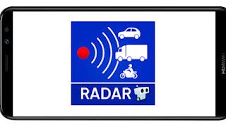 تنزيل برنامج Radarbot Free: Speed Camera Detector & Speedometer Pro mod premium  مدفوع و مهكر بدون اعلانات بأخر اصدار