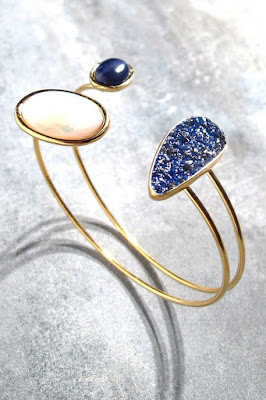 Médecine Douce bracelet Meteor bleu