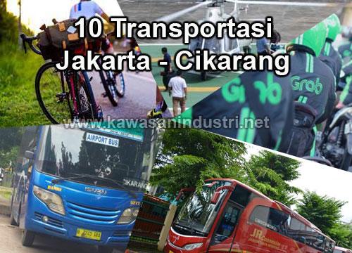 10 Cara Transportasi dari Jakarta Ke Cikarang