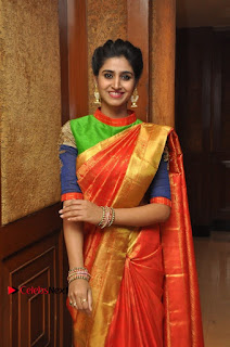 South Indian Celebrities Pos at Love For Handloom Collection Fashion Show  0086.jpg