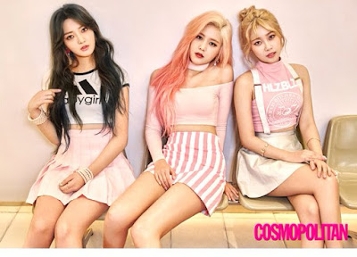 AOA Cream Cosmopolitan March 2016