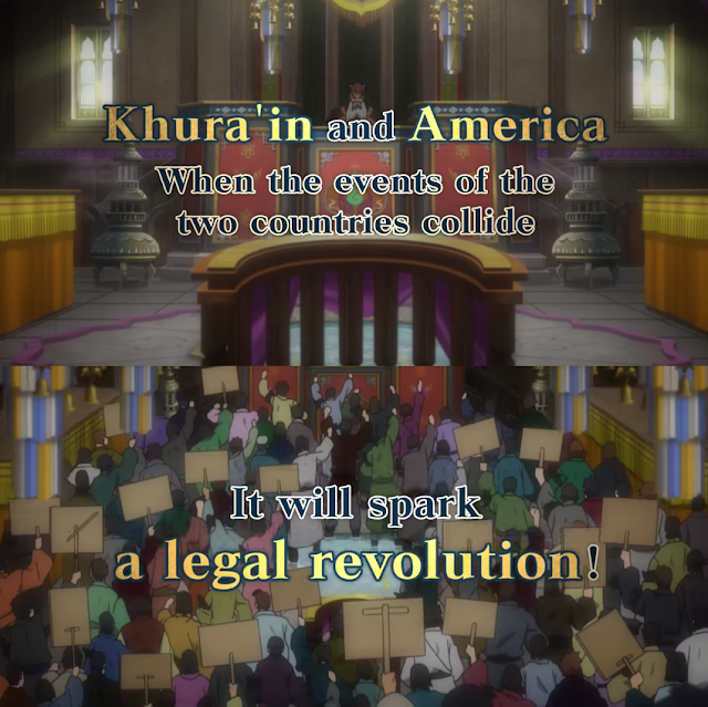 Phoenix Wright Ace Attorney Spirit of Justice legal revolution America Feel the Bern Bernie Sanders