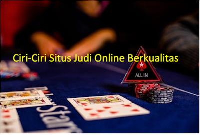 Situs Judi Online Berkualitas