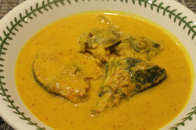 Ikan Tongkol Gulai Kelantan