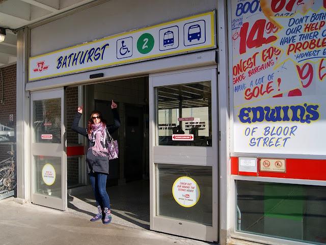 Honest Ed's, Toronto, TTC, Toronto, Subway, Station, Bus, Mirvish, Explore, Hand-painted, Signs, Installation, Memorabilia, Ontario, Canada, The Purple Scarf, MelaniePs