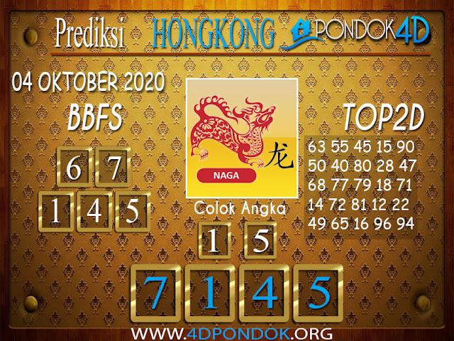 Prediksi Togel HONGKONG PONDOK4D 04 SEPTEMBER 2020