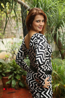 Actress Saloni Latest Pos in Short Dress  0029.JPG