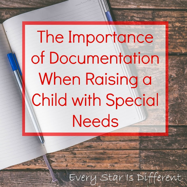 The Importance of Documentation When Raising a Child with Special Needs