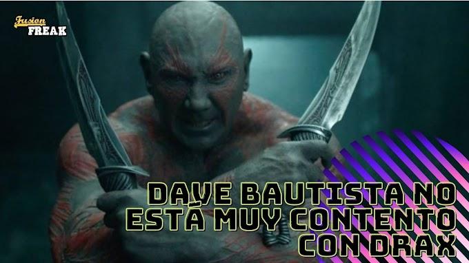 Dave Bautista vuelve a cargar contra Marvel en esta ocasión por el enfoque con Drax