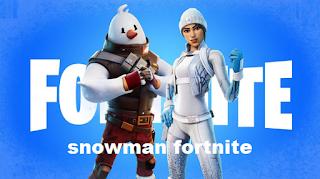 Snowman fortnite, How to get snowman fortnite skins