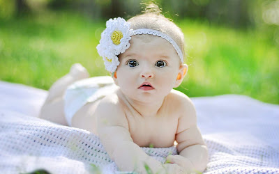 cute indian baby girl images
