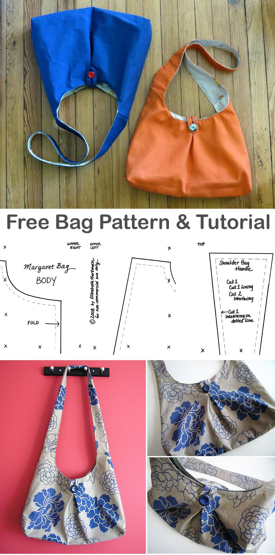DIY Crossbody Sling Bag Tutorial + Pattern