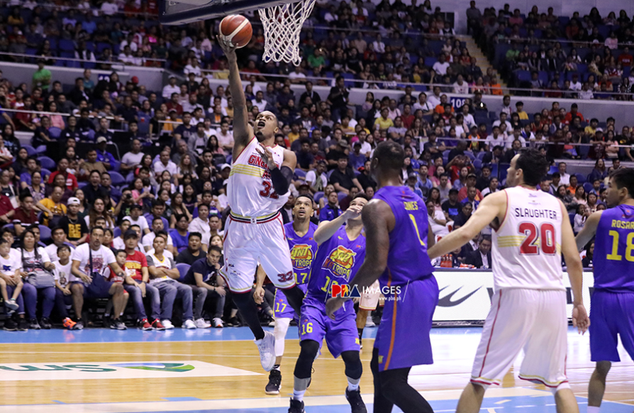 Justin Brownlee's double-double performance ensured Ginebra a game 4