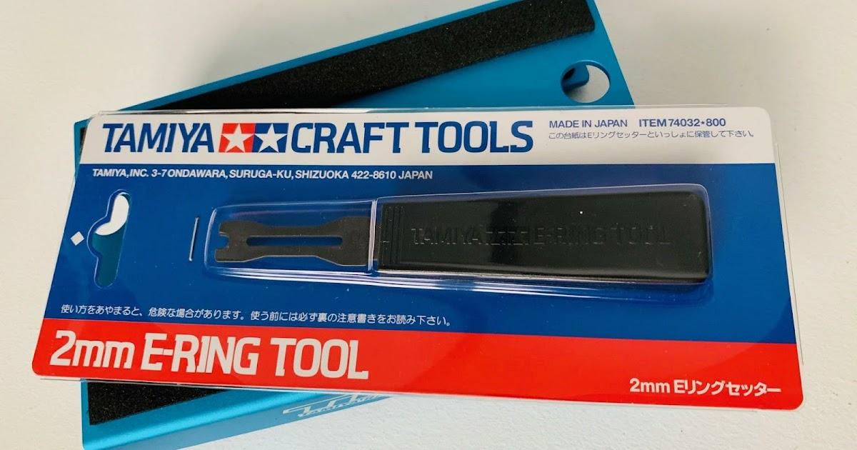 74032 Tamiya E-Ring Tool 2mm Review