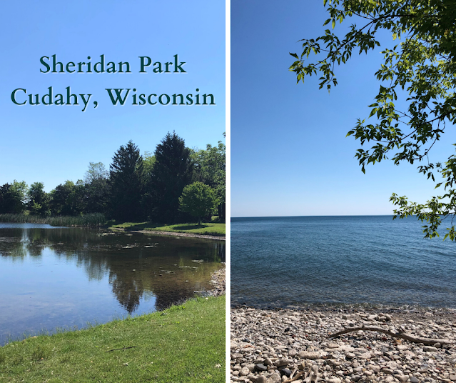Forest Bathing, Lake Views and Green Space at Sheridan Park in Cudahy, Wisconsin