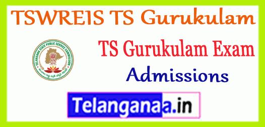 TSWREIS TS Gurukulam 6th 7th 8th 9th Class Admissions  Entrance test Online