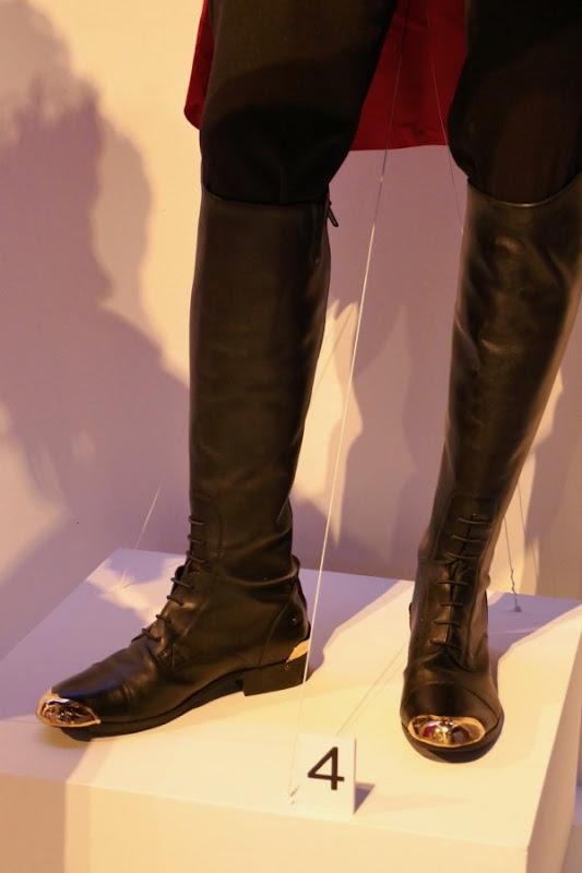 Greatest Showman PT Barnum costume boots