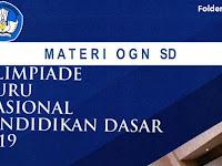 Materi OGN 2019 : Guru Tematik dan Matematika SD